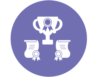 Award-Winning Research icon